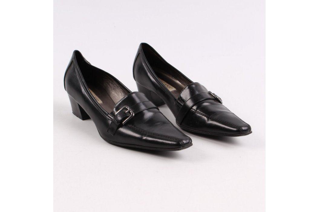 Dámské lodičky Ariane černé barvy Společenská obuv