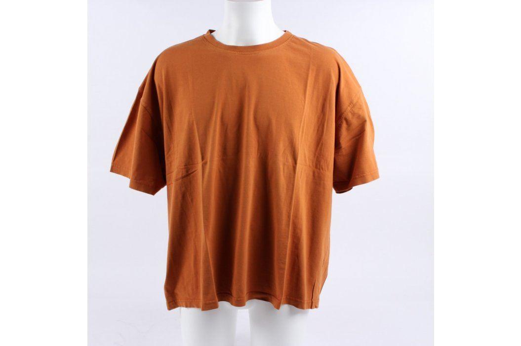 Pánské tričko Duty Free odstín oranžové Pánská trička
