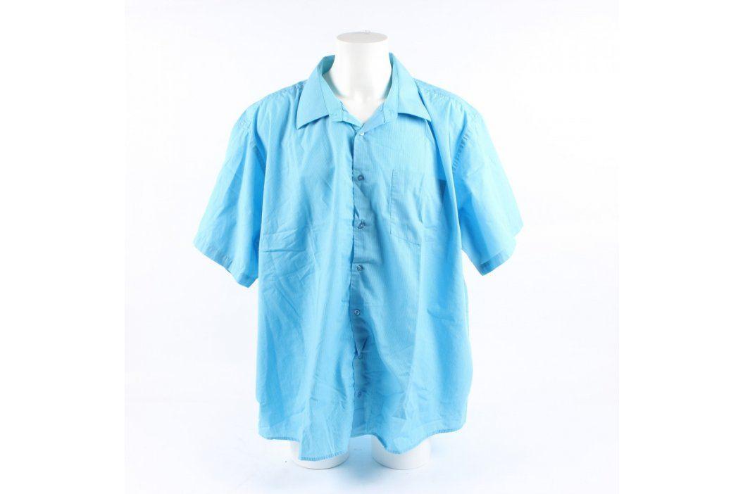 Pánská košile A.M.J. odstín modré Pánské košile