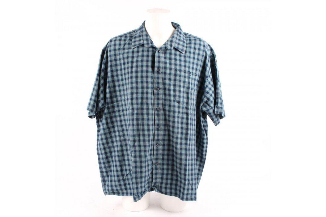 Pánská košile kostkovaná modrá Luko Pánské košile