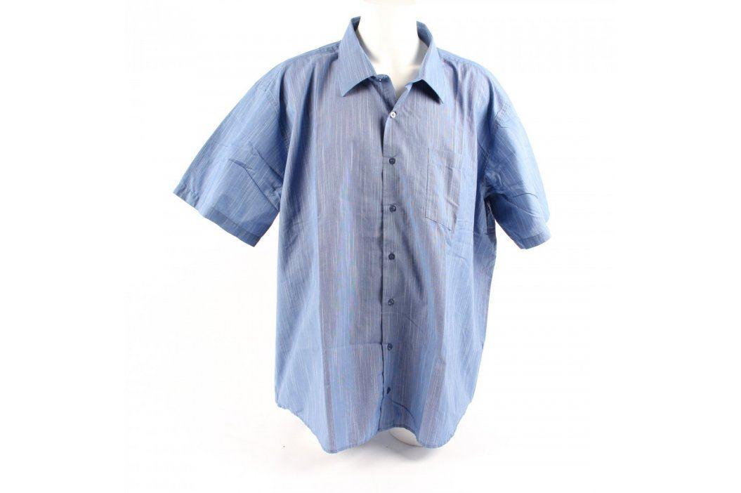 Pánská košile modrá AMJ style Pánské košile