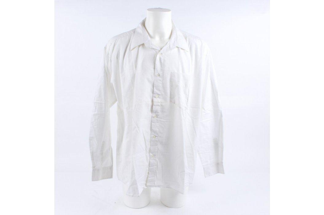 Pánská košile bílá AMJ classic Pánské košile