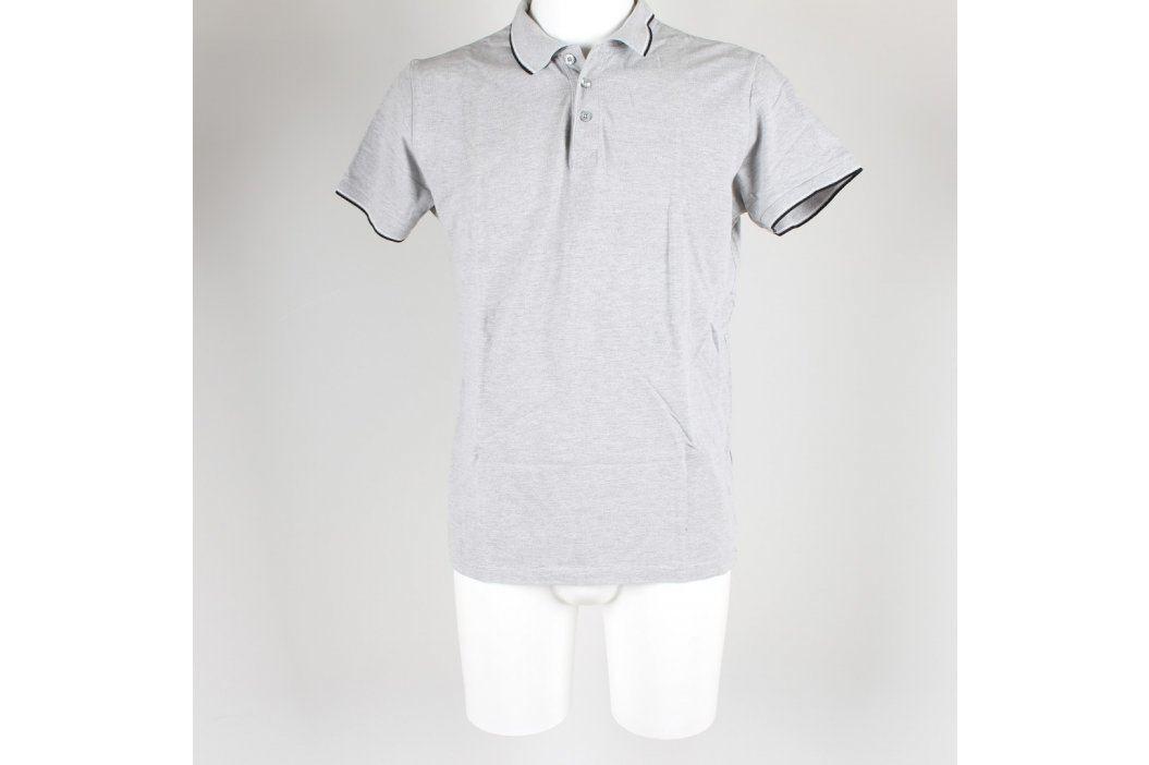 Pánské polo odstín šedé Lee Pánská trička