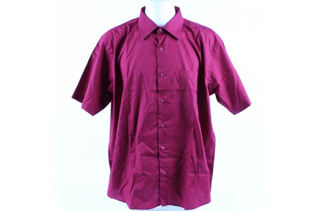 Pánská košile bordó AMJ classic Pánské košile