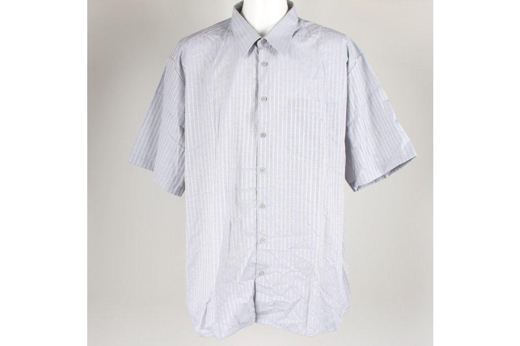 Pánská košile šedobílá Luko Pánské košile