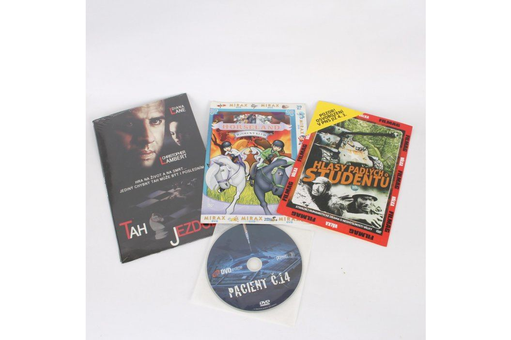 Mix BluRay, DVD a VHS 109881 Mix BluRay, DVD a VHS