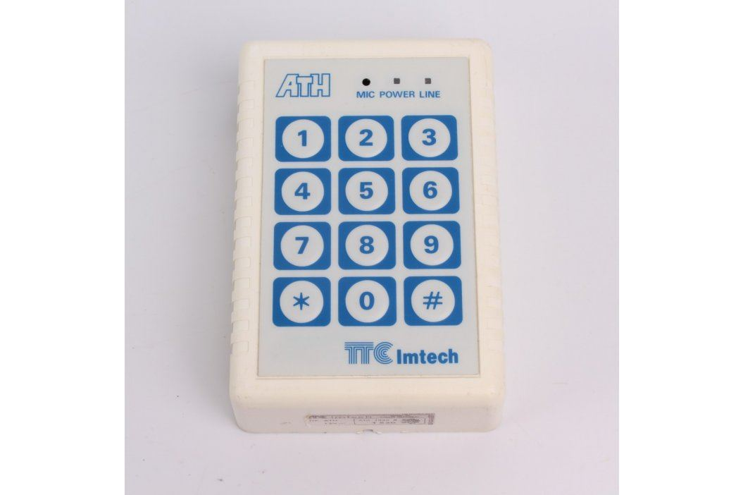 Externí číselná klávesnice TTC Imtech T530 Domovní alarmy
