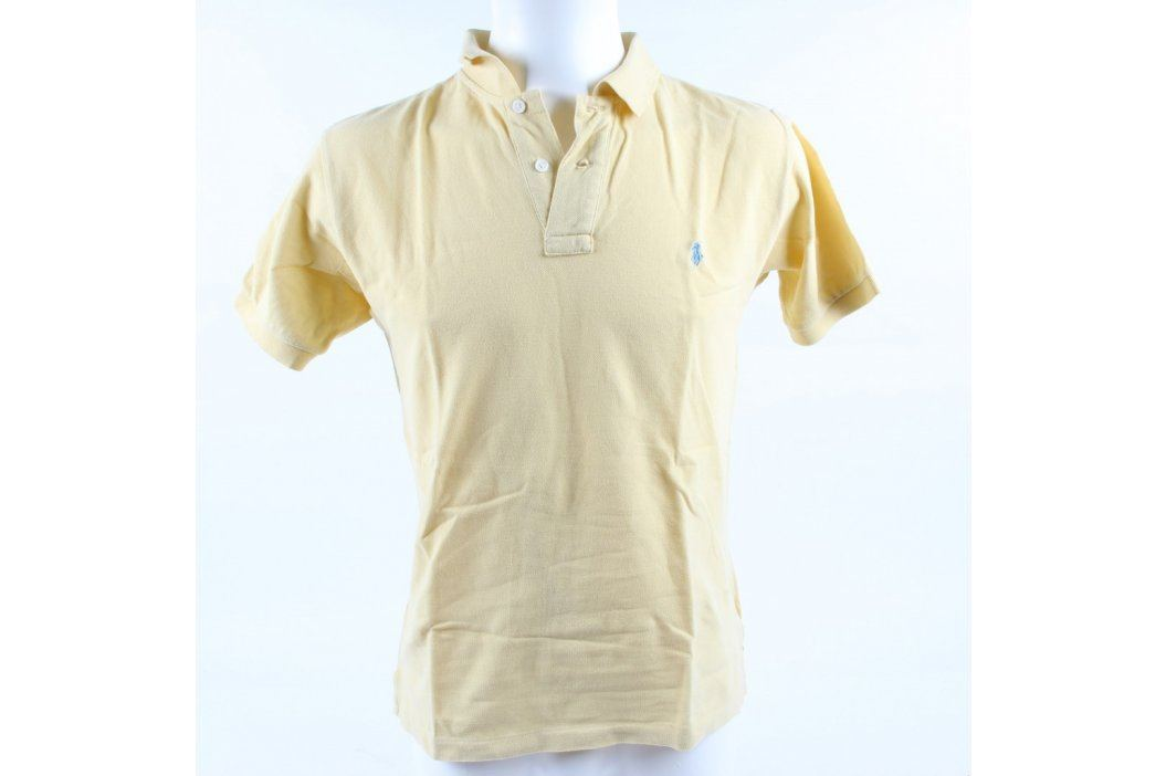 Pánské polo Ralph Lauren žluté Pánská trička
