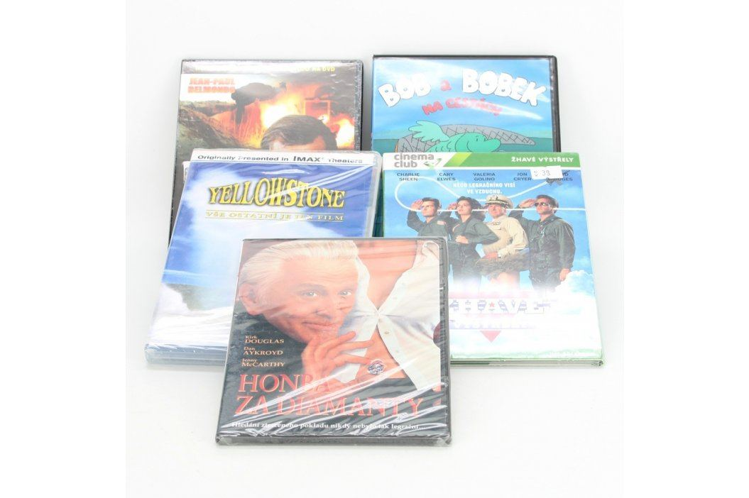 Mix BluRay, DVD a VHS 109233 Mix BluRay, DVD a VHS