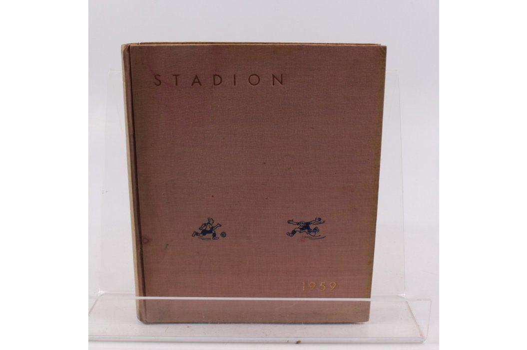 Stadión - rok 1959, ročník 7, čísla 1 - 52 Knihy