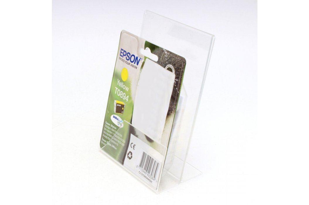 Cartridge Epson T0894 žlutá Náplně tonery a inkousty