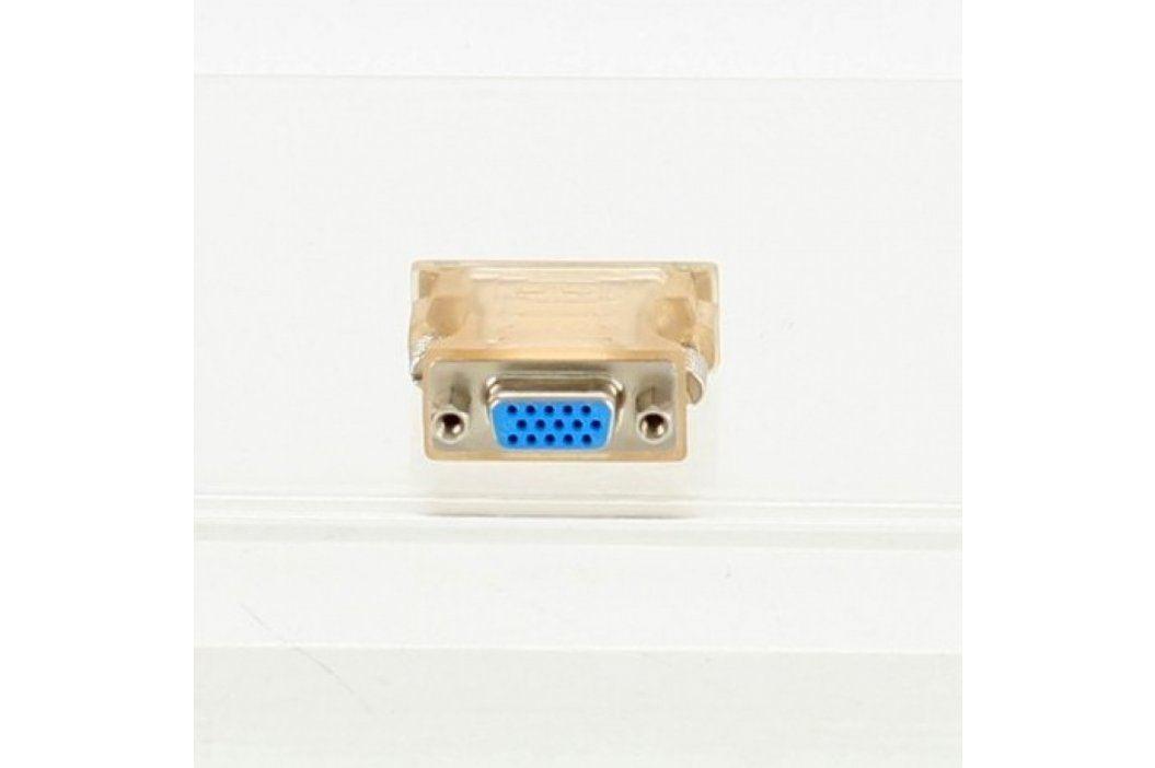 Redukce DVI / VGA béžová  Video kabely