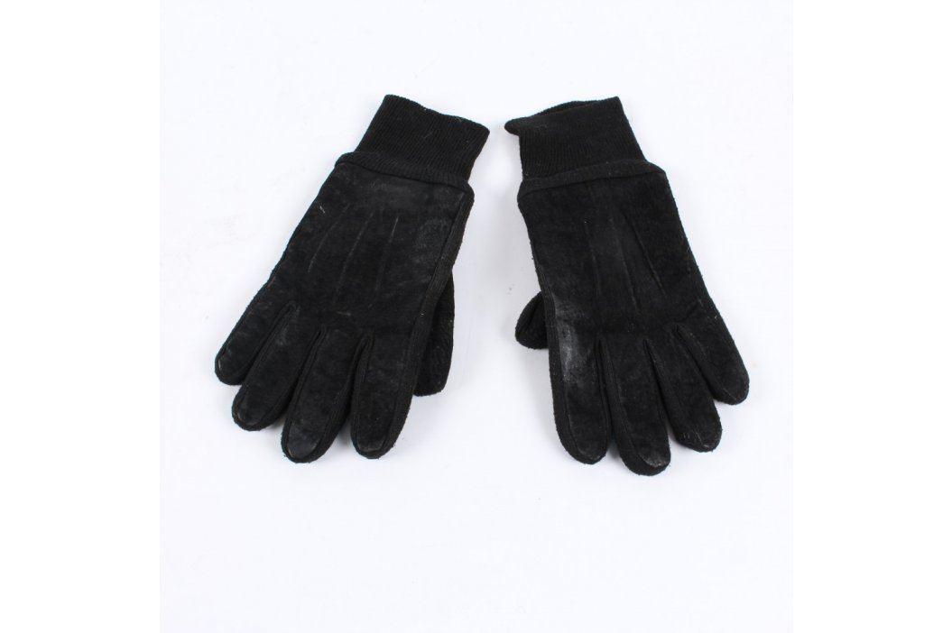 Pánské rukavice kožené černé Rukavice