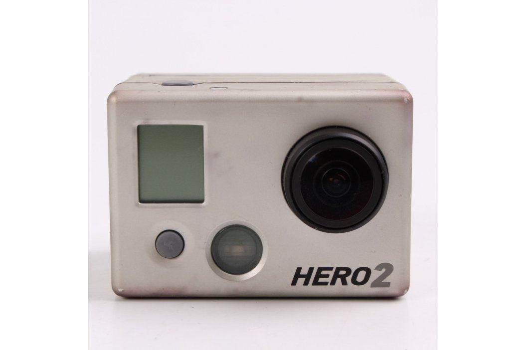 Akční kamera GoPro Hero 2 stříbrná Digitální kamery
