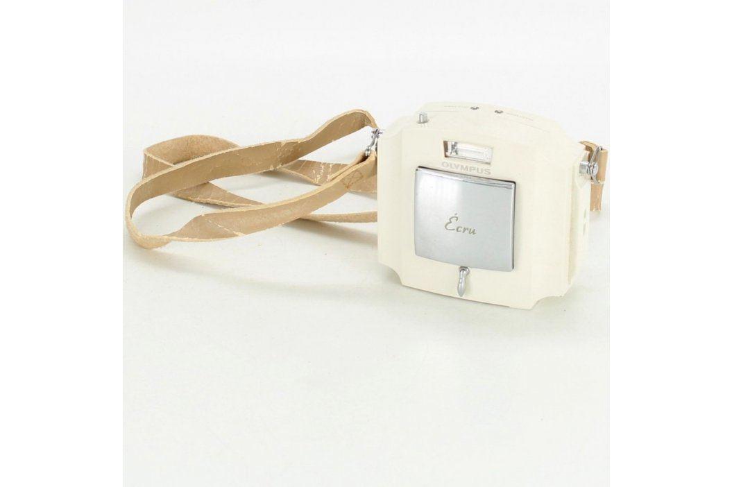 Analogový kompaktní fotoaparát Olympus Écru Klasické fotoaparáty