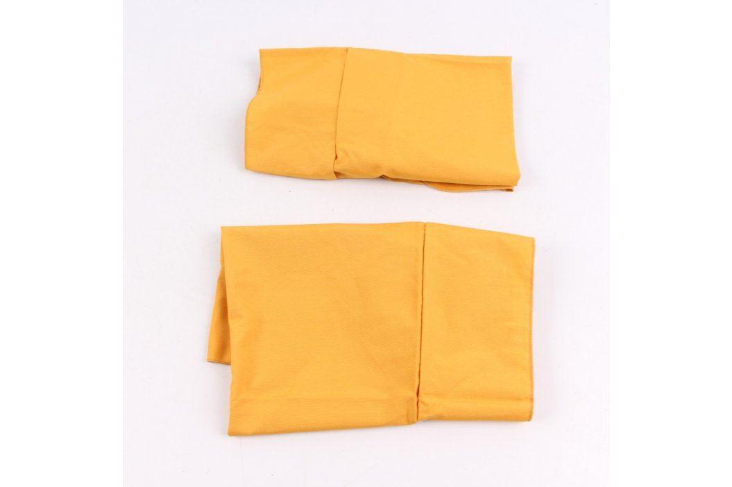 Potahy na židle oranžové 2 kusy Další bytový textil