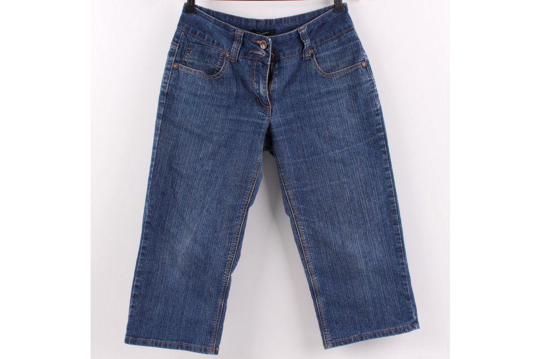 Dámské tříčtvrťáky Dunnes odstín modré Pánské kalhoty