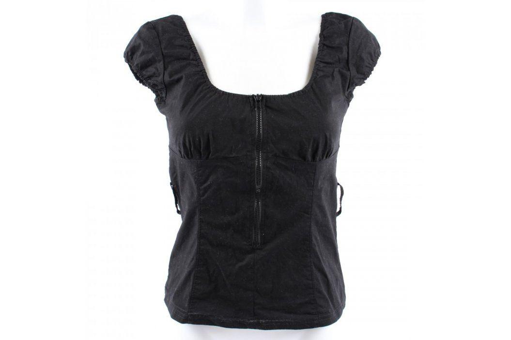 Dámský top Jennifer černý Dámská trička a topy