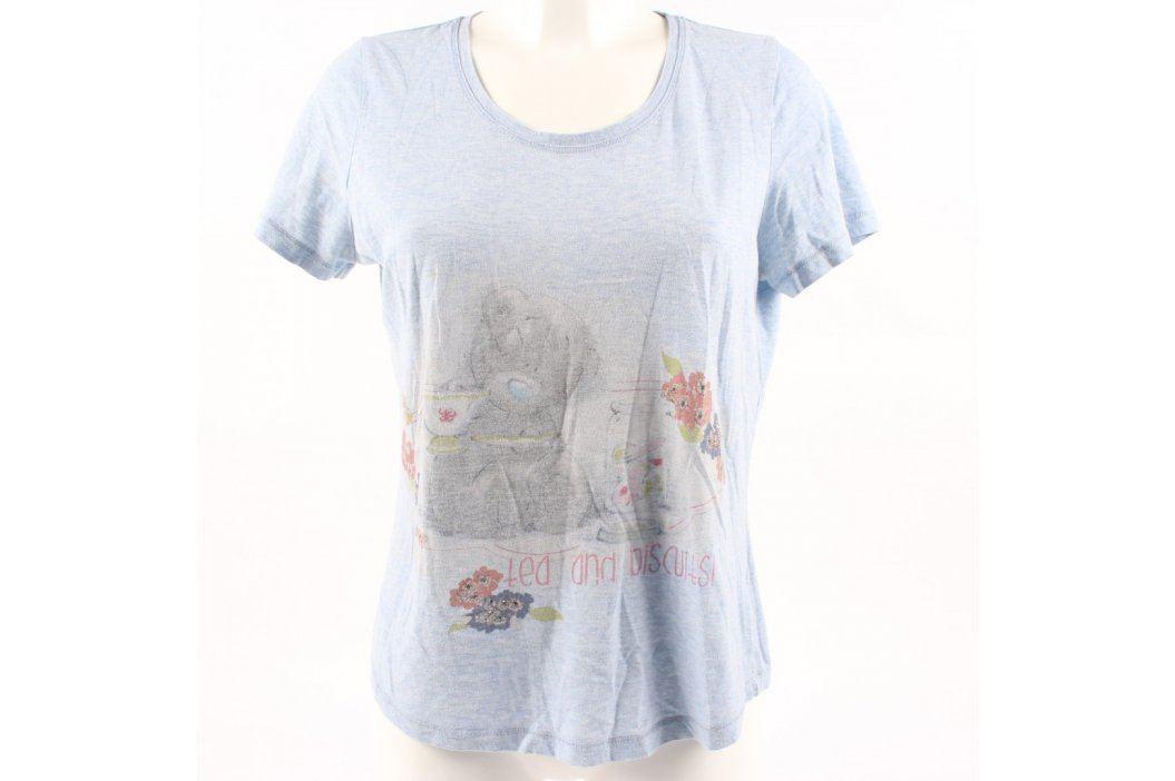 Dámské tričko CBG odstín modré s medvídkem Dámská trička a topy