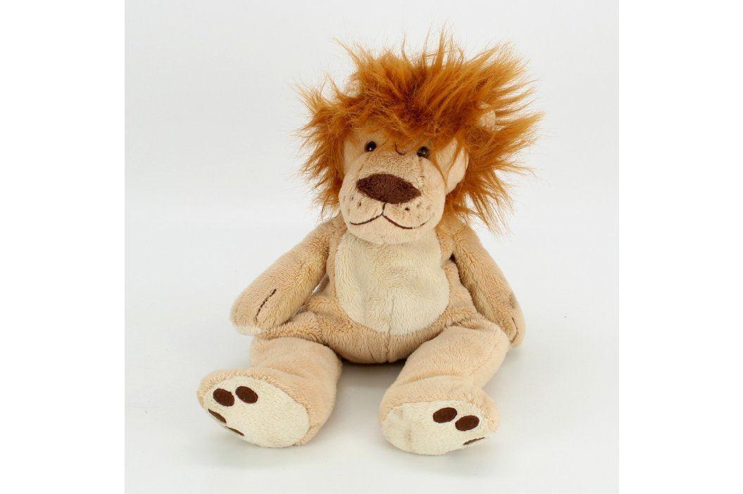 Plyšový lev hnědý 35 cm vysoký Plyšáci