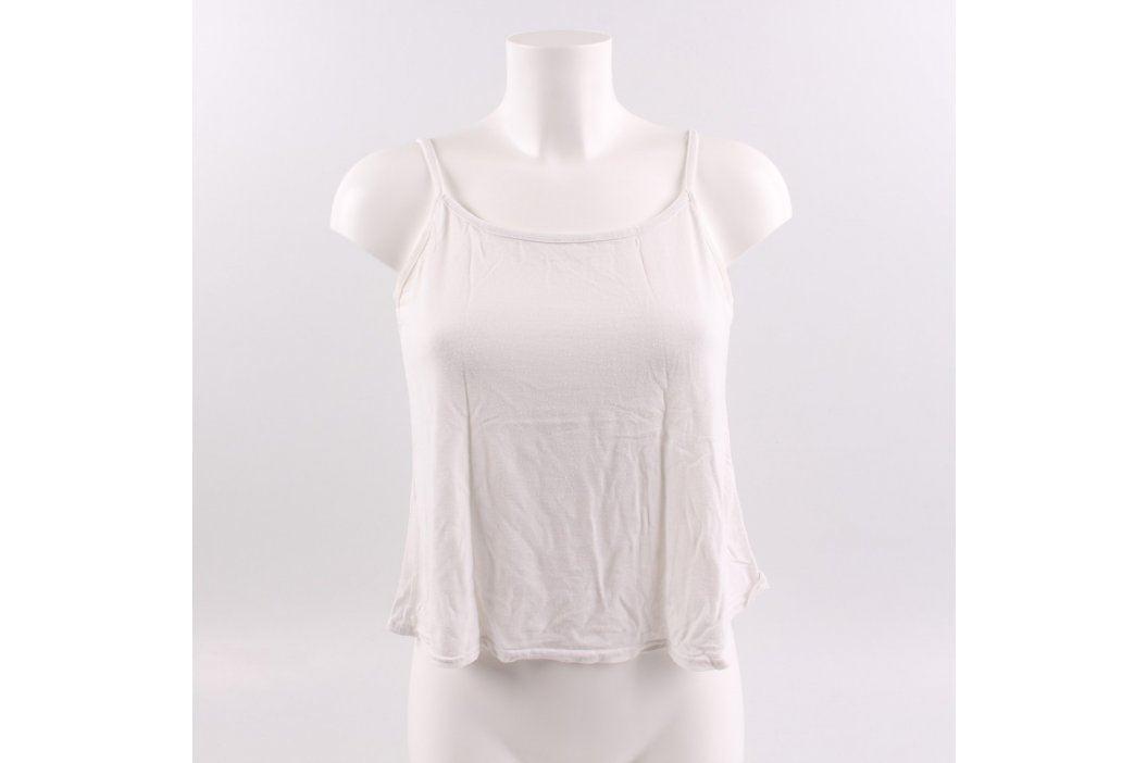 Dámské tílko Wucaiyi bílé Dámská trička a topy