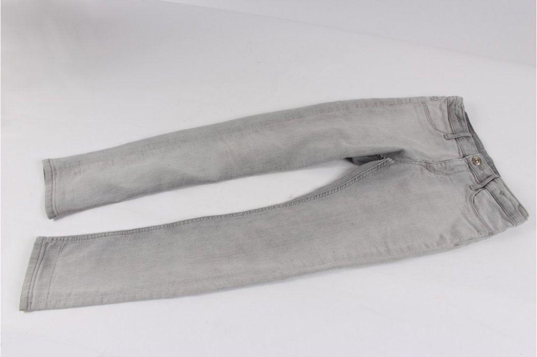Dívčí džíny H&M světle šedé Dětské kalhoty