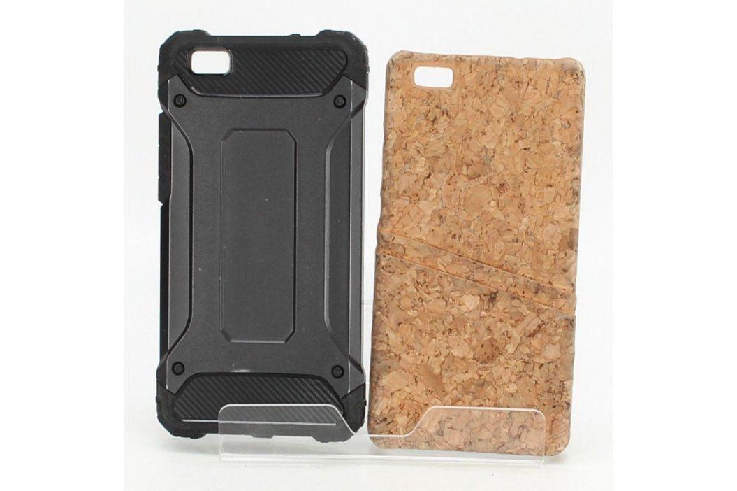 Zadní kryty na mobil černý a korkový Pouzdra a kryty