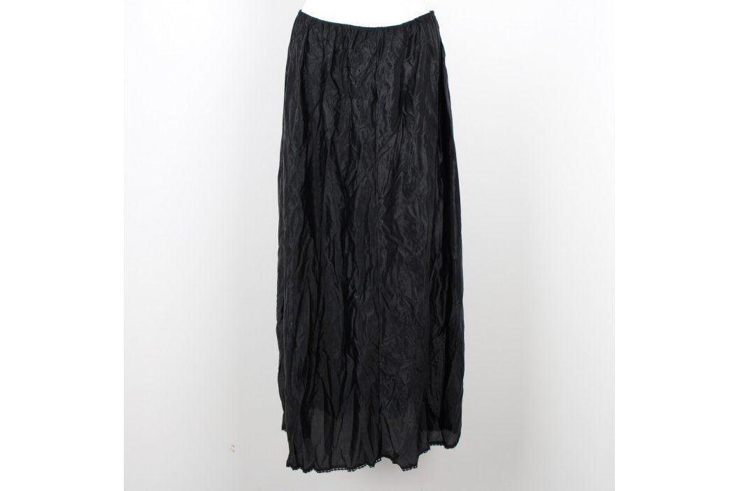 Dámská dlouhá sukně Stretta černá Dámské sukně