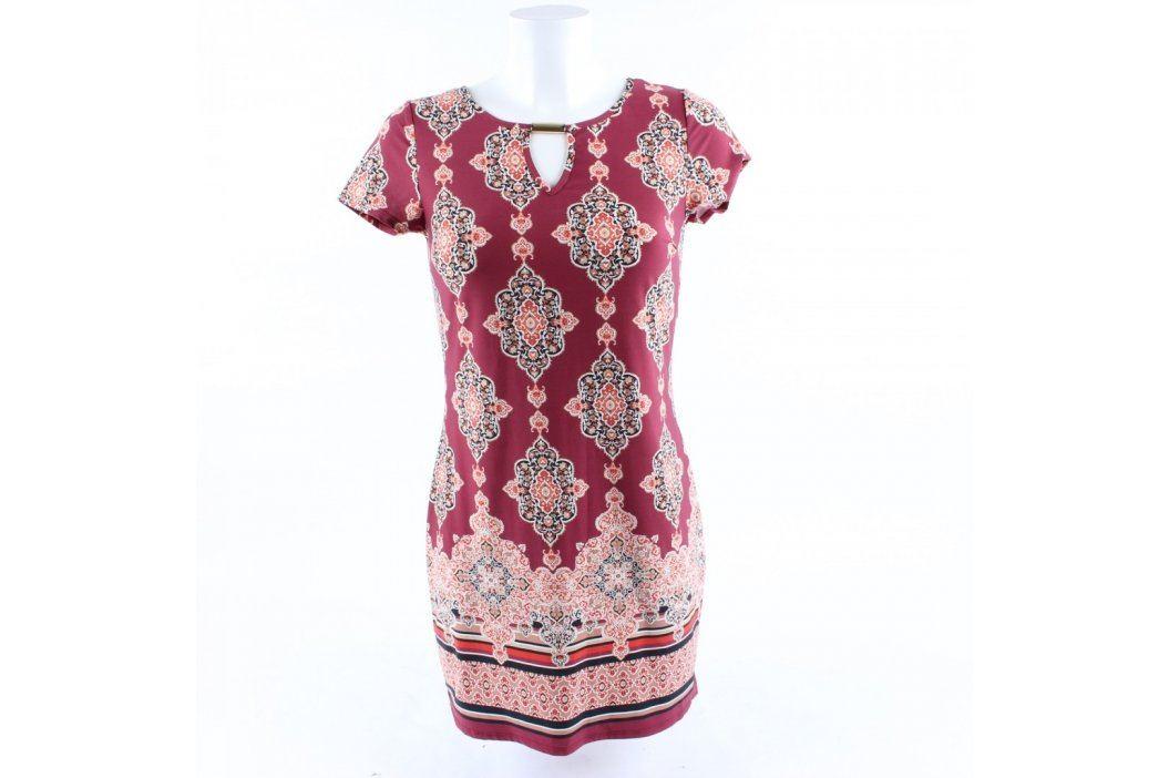 Dámské šaty F&F odstín červené Dámské šaty