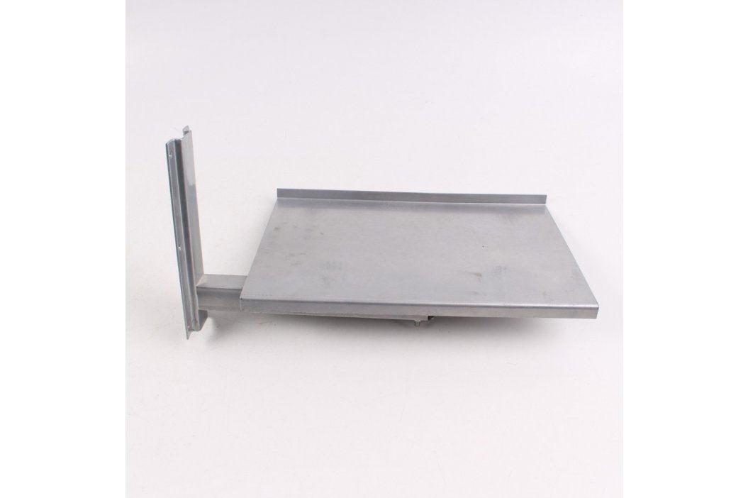Držák TV na zeď 37 x 27 cm stříbrný TV stojany a držáky