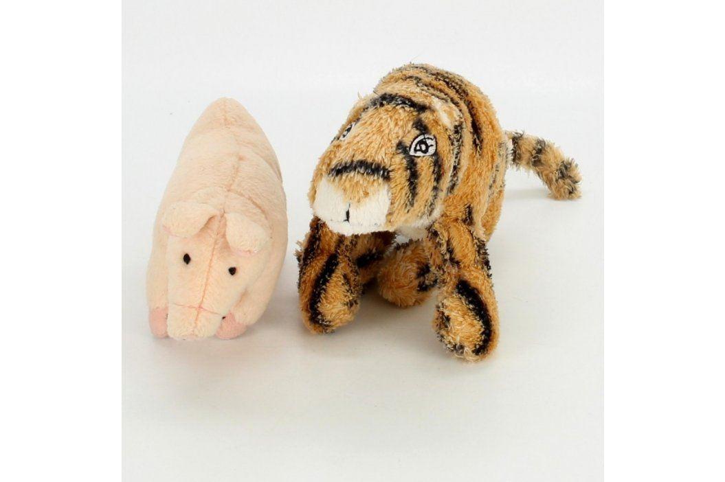 Plyšové hračky tygřík a prasátko Plyšáci