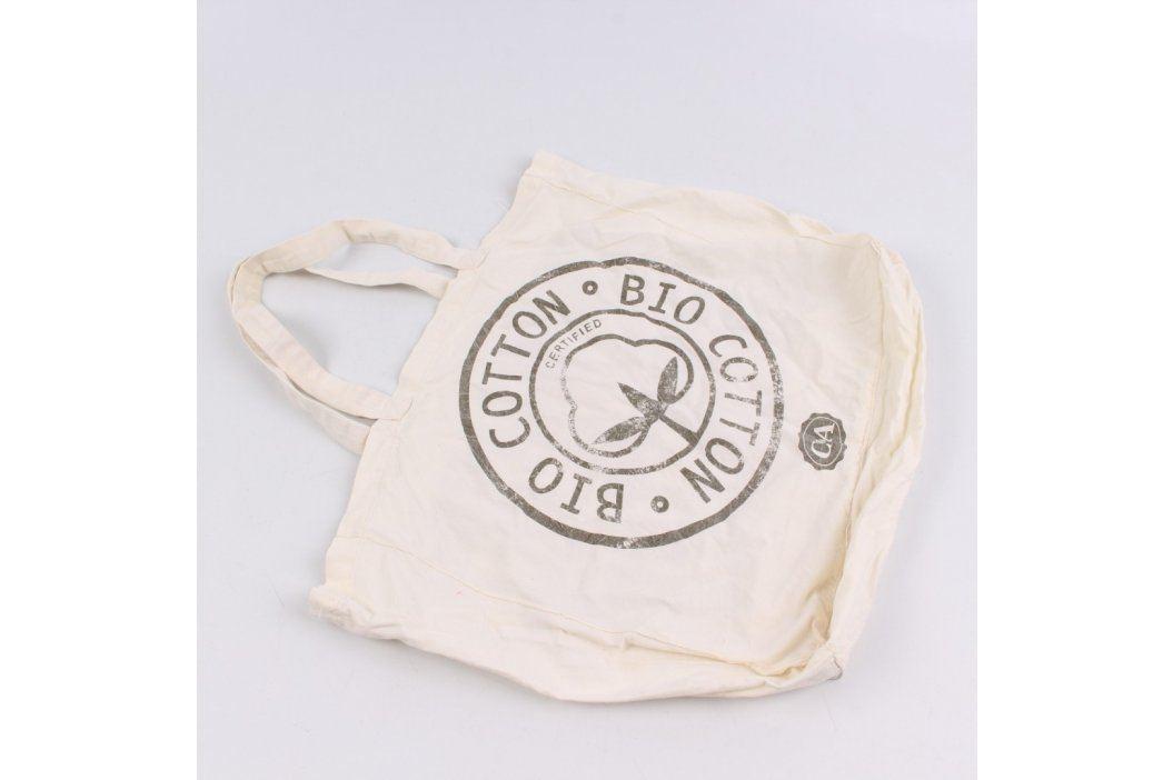 Nákupní taška C&A s potiskem odstín béžové Tašky a aktovky