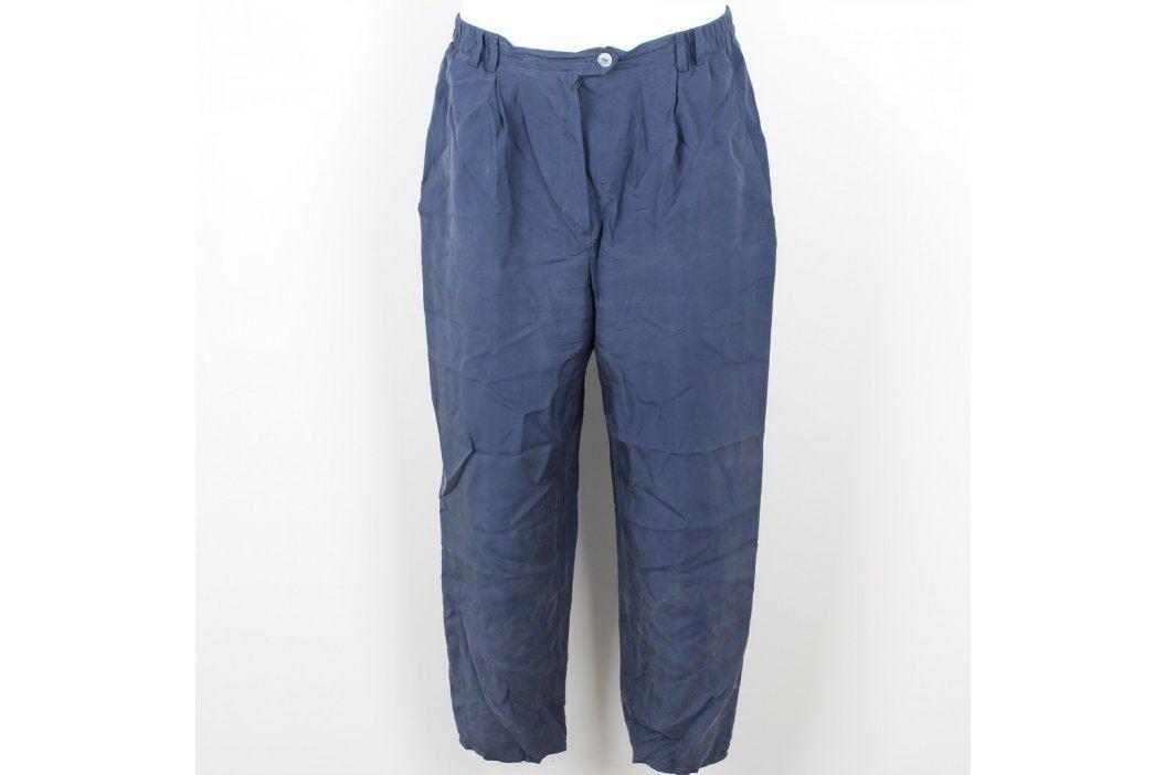 Pánské kalhoty Reine Seide odstín modré Pánské kalhoty