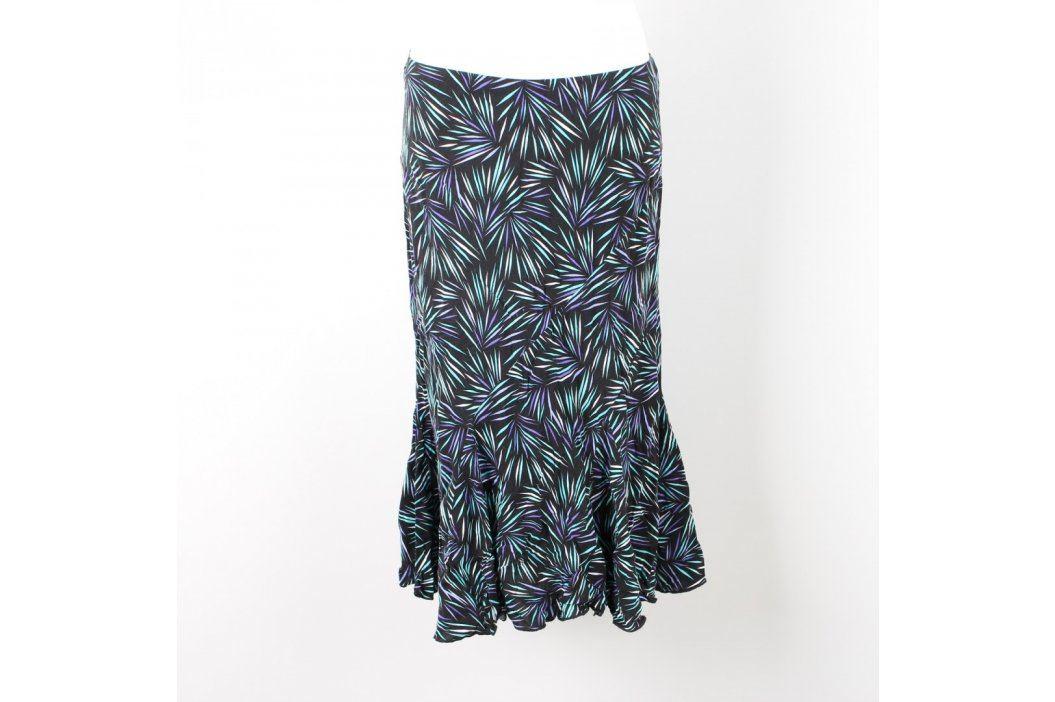 Dámská sukně BM tmavě modrá s čárkami Dámské sukně