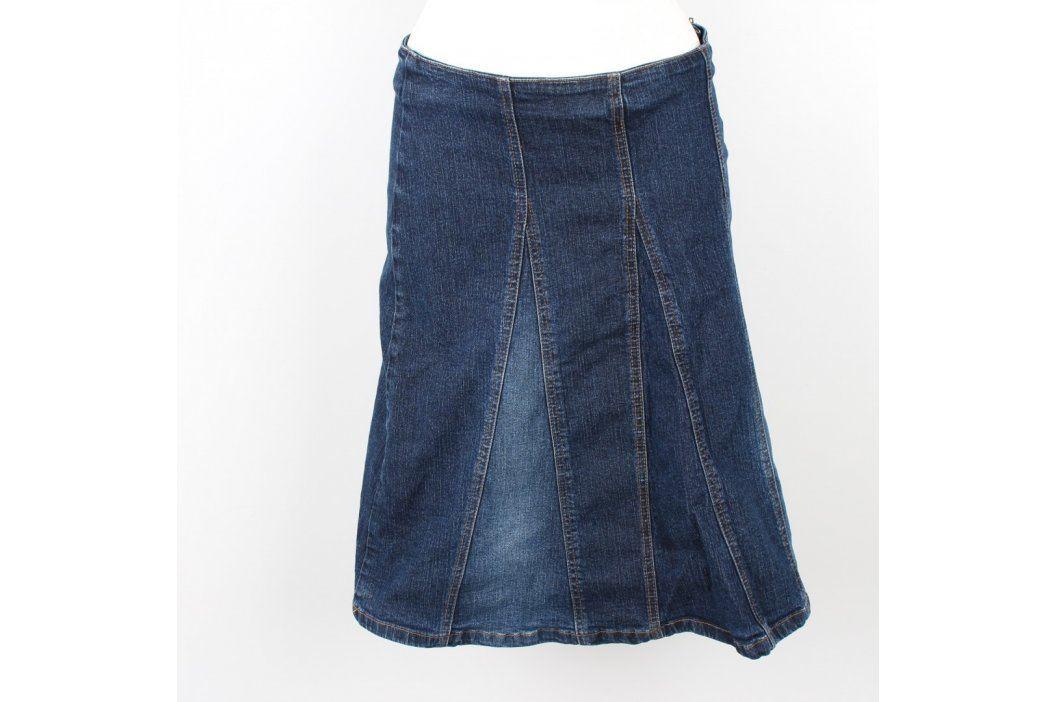 Dámská sukně New Look džínová modrá Dámské sukně