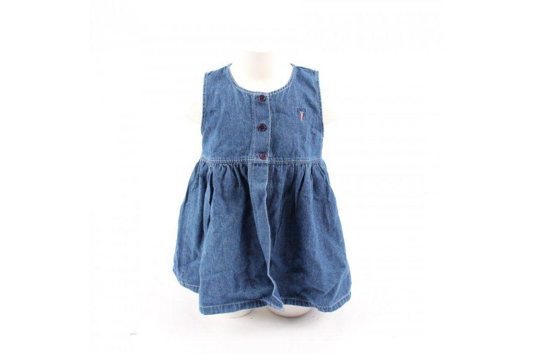 Dětské šaty Mackays džínové modré Dětské šaty a sukně