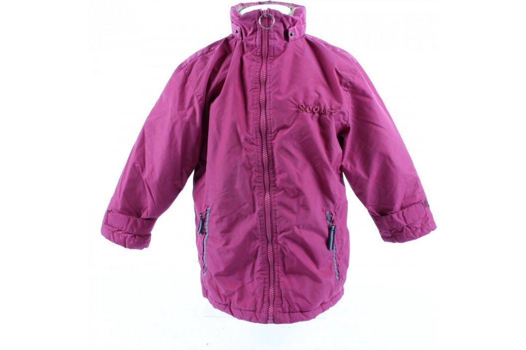 Dětská bunda Scout tmavě fialová Dětské bundy a kabáty