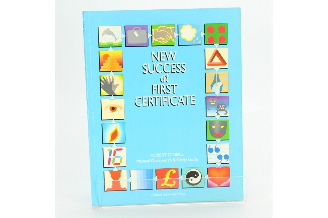 New succes at first certificate Učebnice
