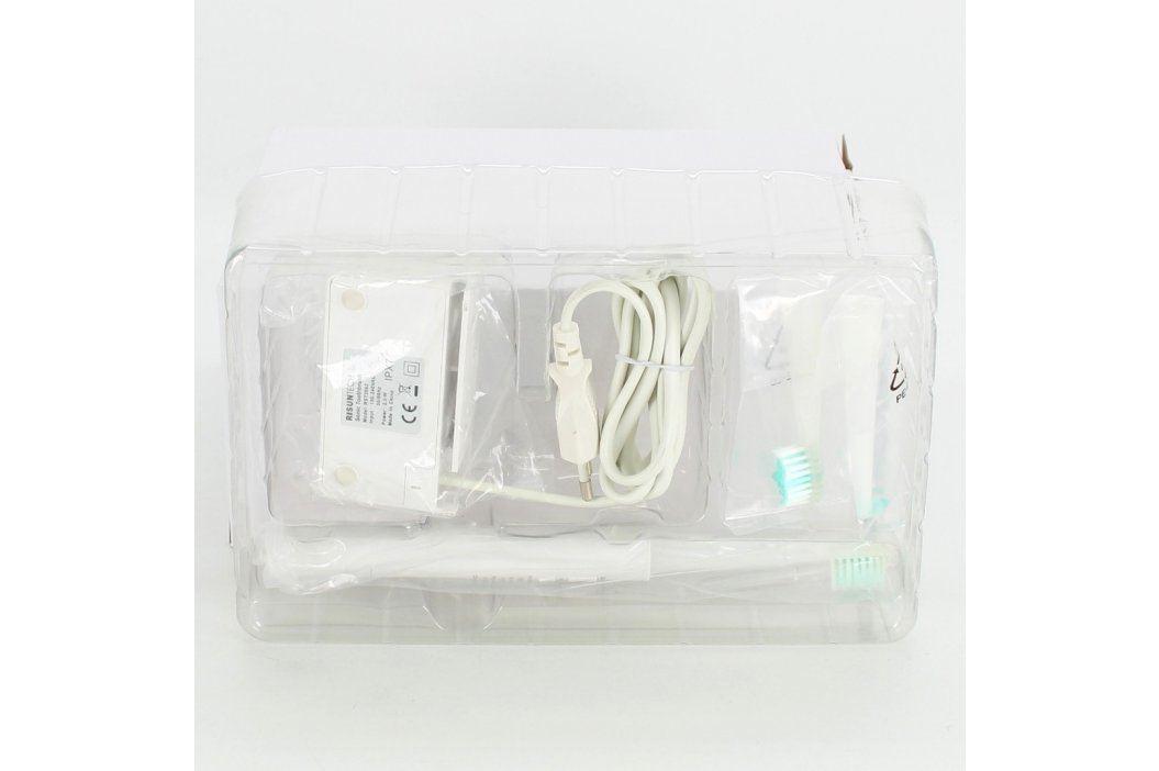 Elektrický zubní kartáček bílé barvy Elektrické zubní kartáčky