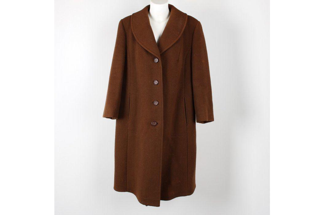 Dámský kabát OP Prostějov hnědý Dámské bundy a kabáty