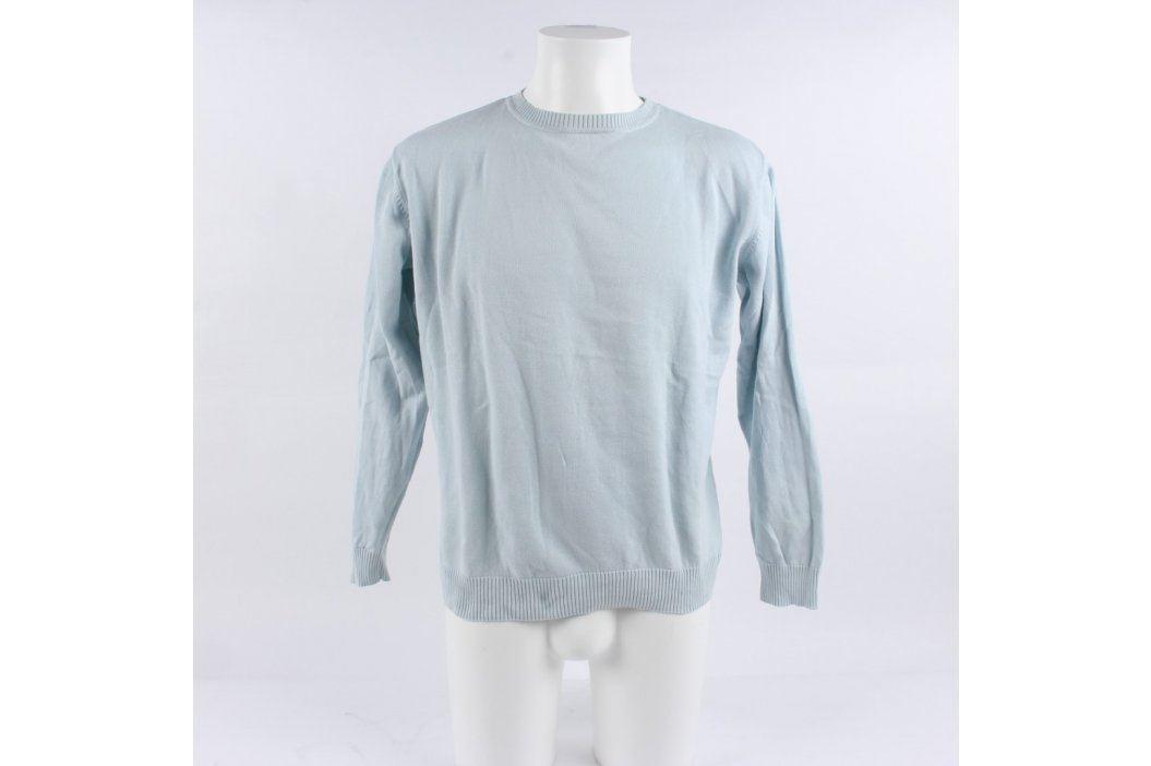 Pánský svetr John F. Gee světle modrý Pánské svetry a roláky