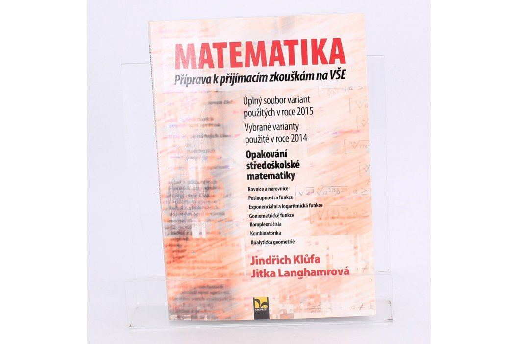 Příručka Příjimačky VŠ-Matematika Knihy