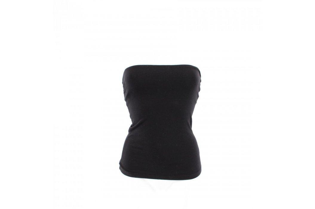 Dámský top H&M černý bez ramínek Dámská trička a topy