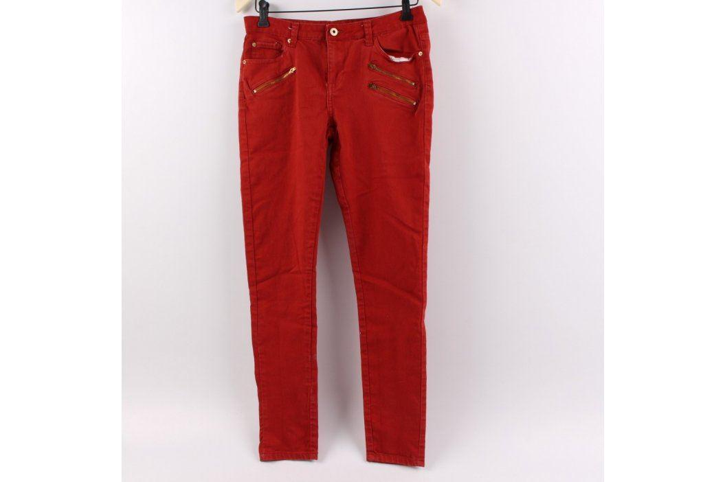 Dámské džíny Janina odstín červené Dámské kalhoty