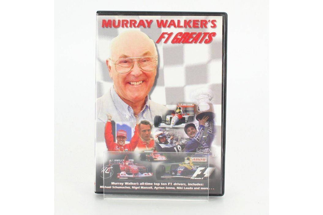 DVD Murray Walkers F1 Greats Filmy