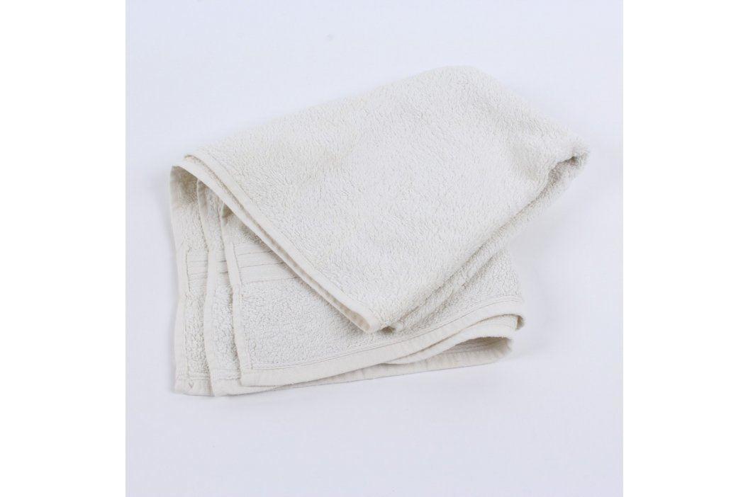 Ručník klasický bílé barvy Ručníky