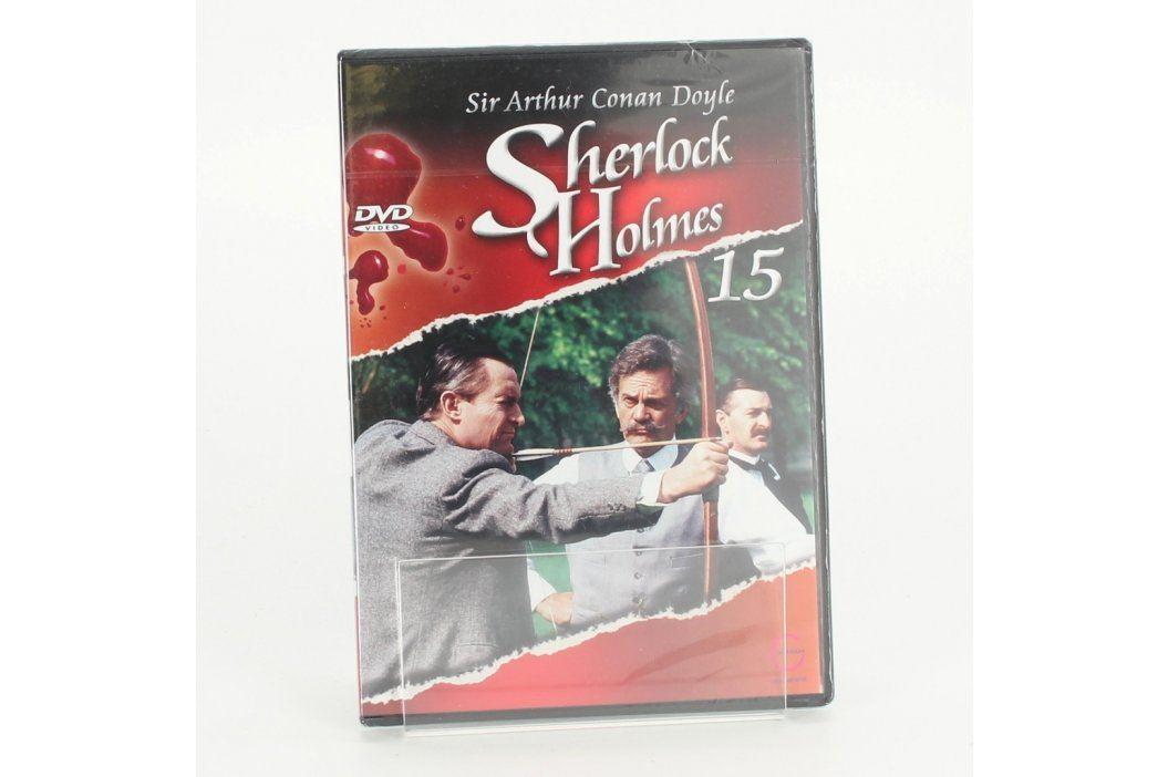 DVD film Sherlock Holmes 15 Filmy