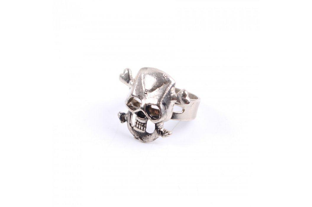 Dámský prsten s lebkou roztahovací Prsteny