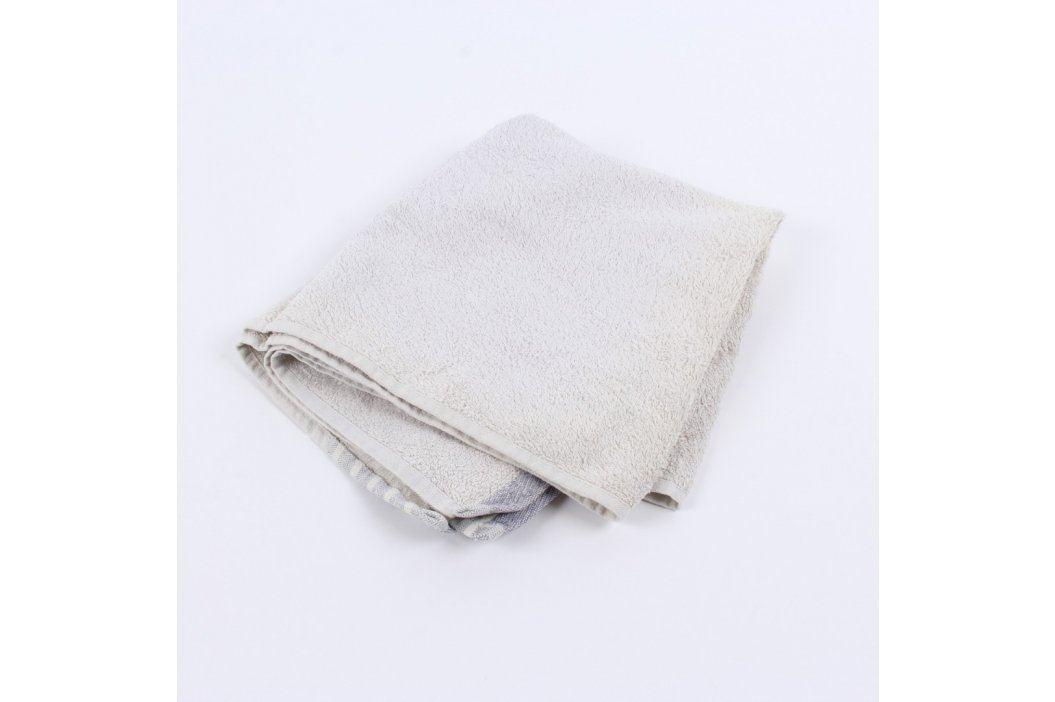 Bavlněný ručník bílý 50 x 90 cm Ručníky