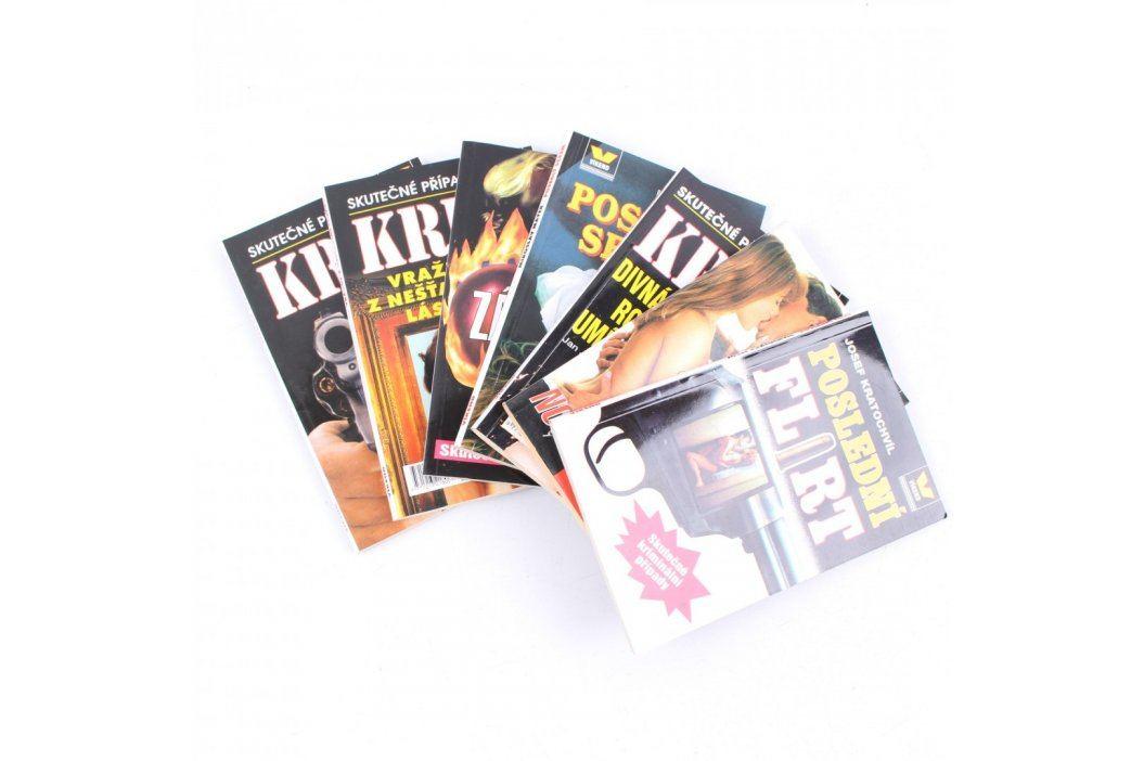 Sada časopisů Skutečné kriminální případy Časopisy a komiksy